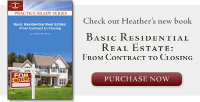 Sycamore Lawyer Heather M Fritsch real estate book